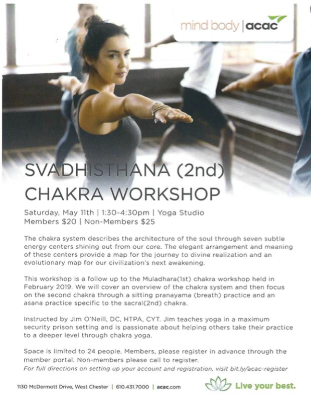 Chakra 2 Workshop May 11, 2019 ACAC